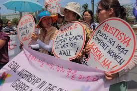 Comfort Women Japan Comfort Women U0027 Urge Japan South Korea To Scrap Deal Abs Cbn News
