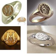 rings with initials signet rings should be heirloom quality and can the family