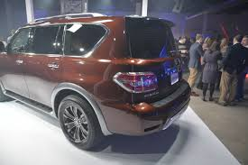 nissan armada 2017 engine 2017 nissan armada suv lands in chicago
