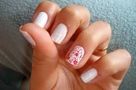 christmas designs for gel nails images
