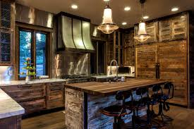 rustic modern kitchen table bathroom interesting modern rustic kitchen ideas designs awesome