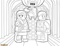 wyldstyle emmet u0026 batman coloring page printable sheet the