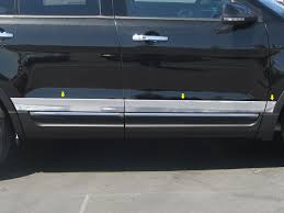 2013 ford explorer upgrades ford explorer chrome rocker panel trim 2011 2012 2013 2014