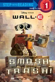 step reading smash trash disney pixar wall