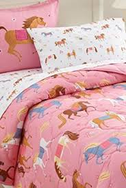 Girls Horse Comforter Western Western Country Store