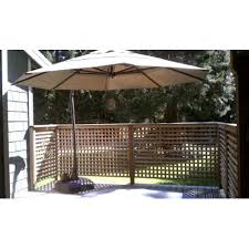 Replacement Patio Umbrella Costco Cantilever Umbrella Replacement Canopy Garden Winds