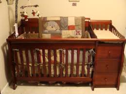 wooden baby crib and changing table combo u2014 thebangups table