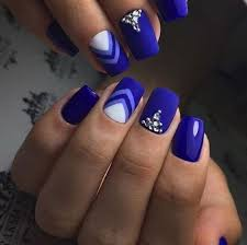 best 25 royal blue nails ideas only on pinterest royal blue