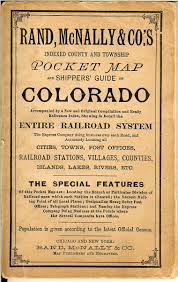 Map Of Colorado Cities by Colorado Maps Old Scarce And Antique Mt Gothic Tomes And Reliquary