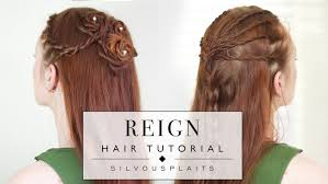reign tv show hair beads how to do two hairstyles from reign olivia mary tutorial youtube
