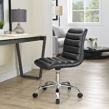 amazon com modway ripple mid back office chair black kitchen