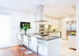 White Kitchen Interior Design  Decor Ideas PICTURES - White kitchen with white backsplash