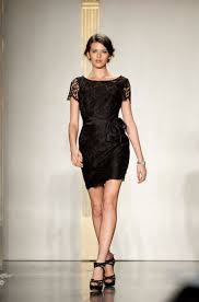 lazaro bridesmaid dresses black bridesmaid dress with lace cap sleeves