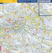 Map Of East And West Germany by Guide To Bach Tour Berlin Maps