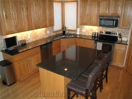 black granite kitchen island opalescence granite kitchen island countertops opalescence black