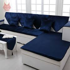 Blue Leather Sofa by Online Get Cheap Blue Leather Sectional Aliexpress Com Alibaba