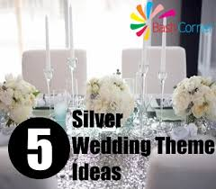 wedding theme ideas silver wedding theme ideas silver wedding theme invitations