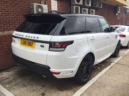 range rover white 2016 2016 u002716 u0027 range rover sport 3 0 v6 autobiography worldwide