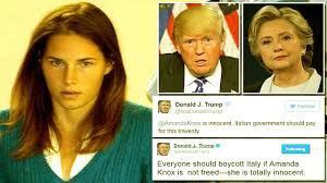 Trump Presidential Makeover by President Trump Very Upset With Ungrateful Amanda Knox Youtube