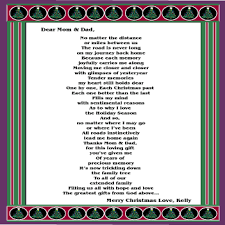 christmas poems mom gift parents christmas poetry gifts