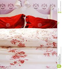double bed deco design close up stock photo image 54056925