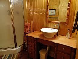 cabin bathroom decor rustic crafts u0026 chic decor