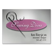 sewing cards templates stylish tailor dressmaker wedding salon business card dressmaker