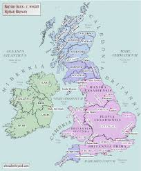 Blank Map Of Roman Empire by Maps Of Britain And Ireland U0027s Ancient Tribes Kingdoms And Dna