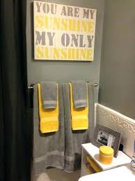 gray bathroom decorating ideas yellow gray and white bathroom decor image bathroom 2017