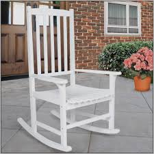 Rocking Chairs Outdoor White Wooden Rocking Chair Outdoor Chairs Home Decorating