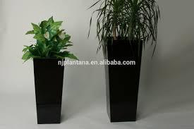 large decorative flower pots white frp plant pot vertical flower