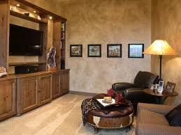 home office with tv design ideas plastered walls add texture to the home office tv