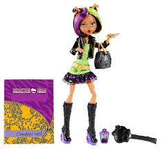 monster high clawdeen wolf halloween costume monster high new scaremester clawdeen wolf fashion doll new