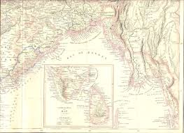 South Asia Blank Map by Indphysical