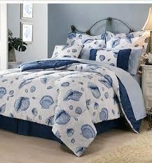 Beachy Comforters Seashell Beach Themed Tropical Queen Comforter Sheets Shams