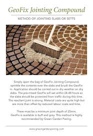 Patio Pointing Compound 14 Best Bedding Jointing And Pointing Mortars For Paving Images