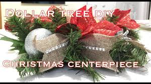 dollar tree christmas centerpiece diy vd 7 youtube