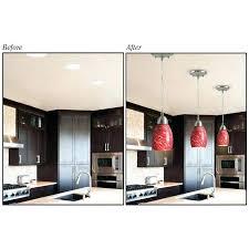 converter kit for recessed lighting convert recessed light to pendant recessed lighting pendant