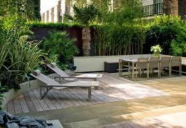 Modern Backyard Ideas Pleasant Easy Low Maintenance Modern Backyard Ideas For Creating