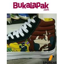 Jual Vans Beatles jual best seller sepatu skate vans sk8high the beatles yellow