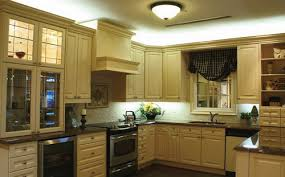 Kitchen Cabinet Lights Installing Kitchen Cupboard Lighting To Add Nice Bit To Just About