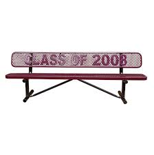 Personalized Park Bench Benches Archives Terracast Productsterracast Products