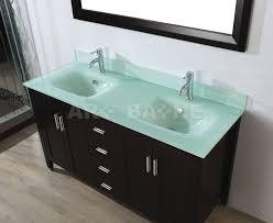 Glass Vanity Tops Bathe Jackie 60 Chai Bathroom Vanity Marble Or Glass In