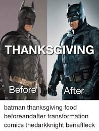 thanksgiving iga before after batman thanksgiving food
