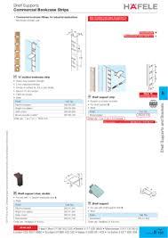 Adjustable Bookcase Strips Hafele Bookcase Strips Azontreasures Com