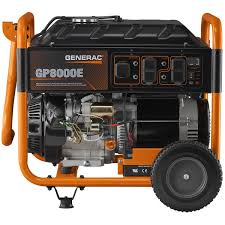 amazon com generac 6954 gp8000e 8 000 running watts 10 000
