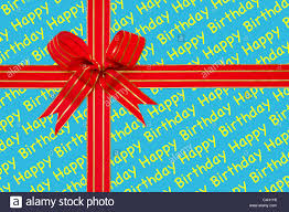 bow wrapping paper photo of a and gold ribbon in a bow on happy birthday