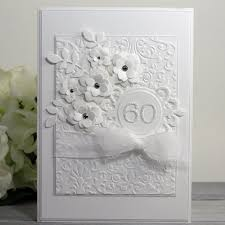 60th anniversary card anniversary wishes card