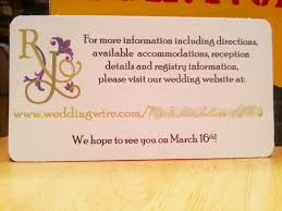 Wedding Invitations Inserts Top Selection Of Wedding Invitation Website Theruntime Com
