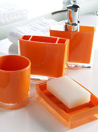 unthinkable orange bathroom decor best 25 orange bathrooms ideas